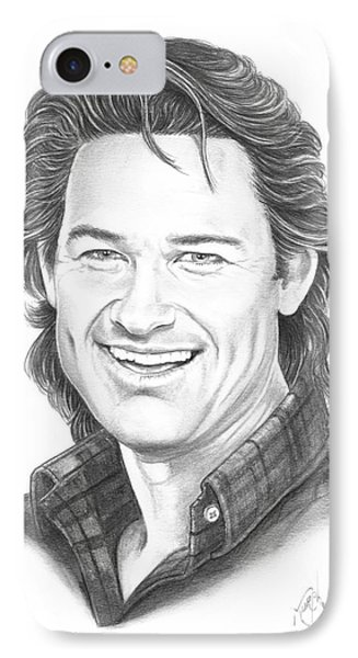 Kurt Russell Phone Case by Murphy Elliott