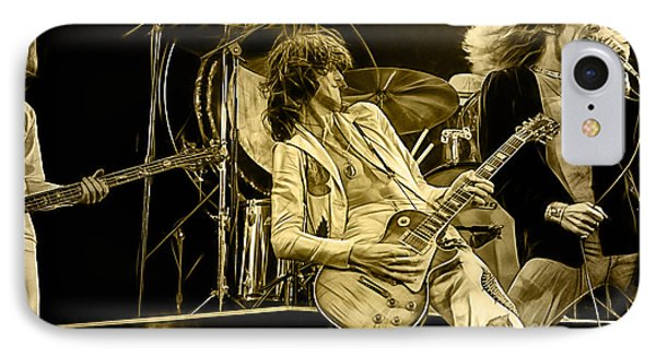 Led Zeppelin Collection IPhone Case by Marvin Blaine