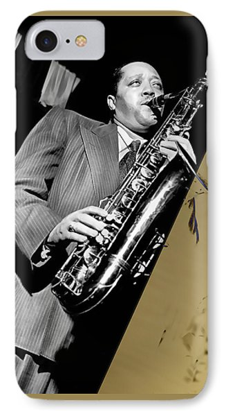 Lester Young Collection IPhone Case by Marvin Blaine
