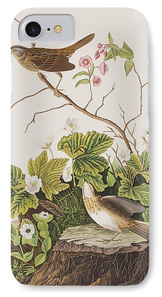 Lincoln Finch IPhone 7 Case by John James Audubon