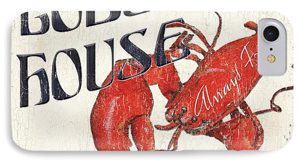 Lobster House IPhone Case by Debbie DeWitt