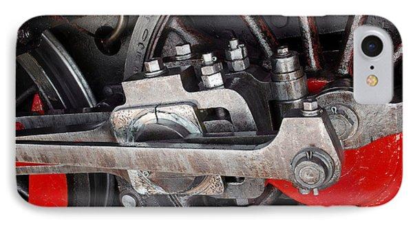 Locomotive Wheel Phone Case by Carlos Caetano