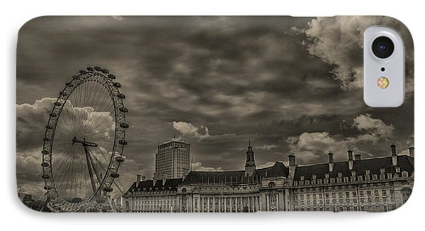 London Eye IPhone 7 Case by Martin Newman