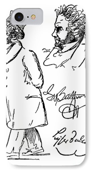 Ludwig Van Beethoven Phone Case by Granger