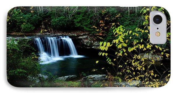 Mccoy Falls Birch River IPhone Case by Thomas R Fletcher
