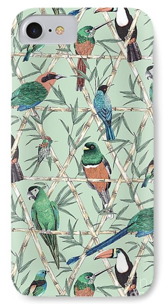 Menagerie IPhone 7 Case by Jacqueline Colley