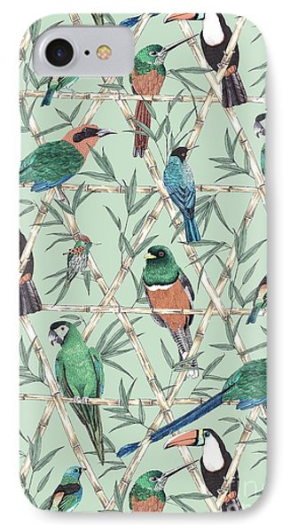 Menagerie IPhone Case by Jacqueline Colley