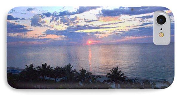 Miami Sunrise Phone Case by Pravine Chester