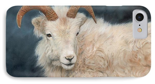 Mountain Goat IPhone 7 Case by David Stribbling