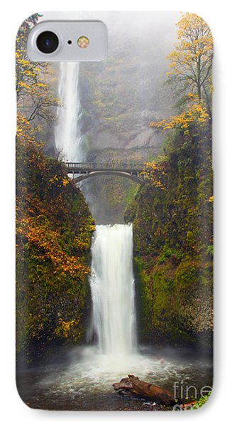Multnomah Autumn IPhone Case by Mike Dawson