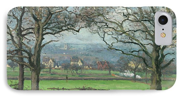 Near Sydenham Hill IPhone Case by Camille Pissarro