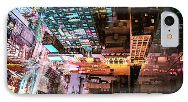 New York City - Night IPhone Case by Vivienne Gucwa