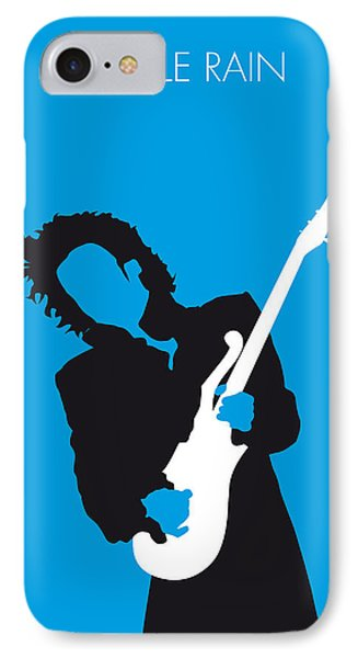 No009 My Prince Minimal Music Poster IPhone Case by Chungkong Art