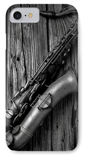 Old Sax IPhone Case by Garry Gay