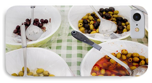 Olives IPhone Case by Tom Gowanlock