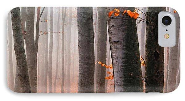 Orange Wood Phone Case by Evgeni Dinev