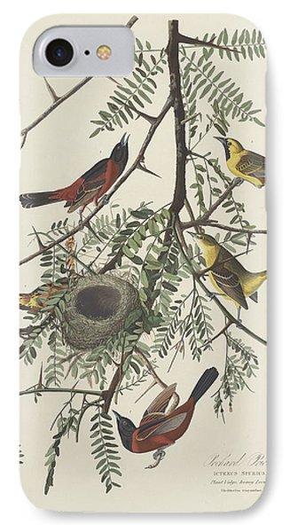 Orchard Oriole IPhone Case by John James Audubon