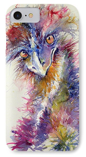 Ostrich IPhone 7 Case by Kovacs Anna Brigitta