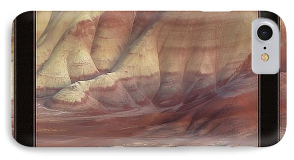 Painted Hills Triptych IPhone Case by Leland D Howard