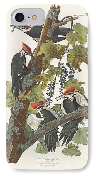 Pileated Woodpecker IPhone 7 Case by John James Audubon