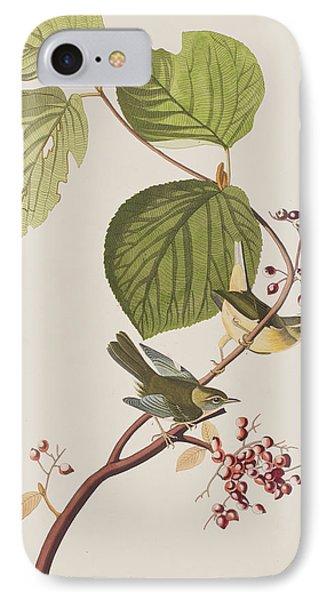Pine Swamp Warbler IPhone Case by John James Audubon