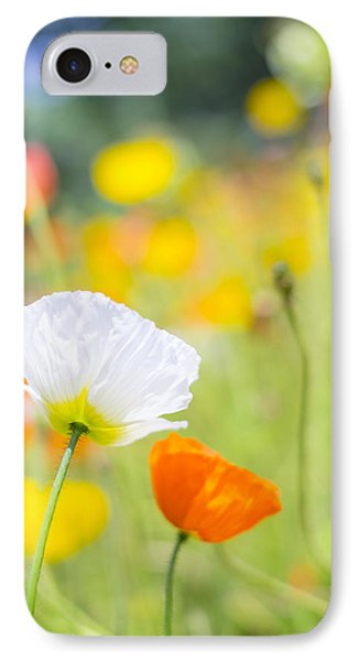 Poppies IPhone Case by Silke Magino