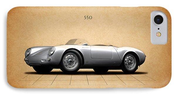 Porsche 550 IPhone Case by Mark Rogan