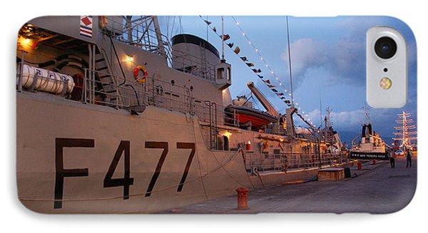 Portuguese Navy Frigates Phone Case by Gaspar Avila