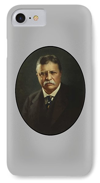 President Theodore Roosevelt  IPhone Case by War Is Hell Store