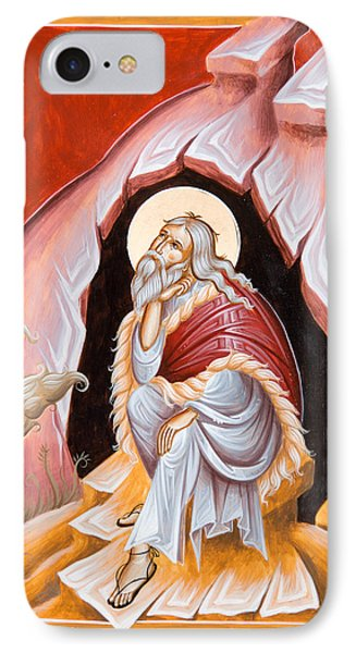 Prophet Elijah  IPhone Case by Julia Bridget Hayes
