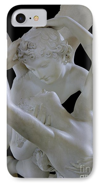 Psyche Revived By The Kiss Of Cupid Phone Case by Antonio Canova