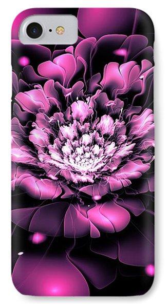 Purple Flower IPhone Case by Anastasiya Malakhova