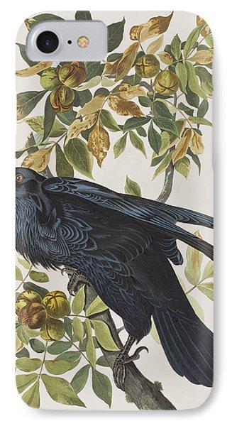 Raven IPhone Case by John James Audubon