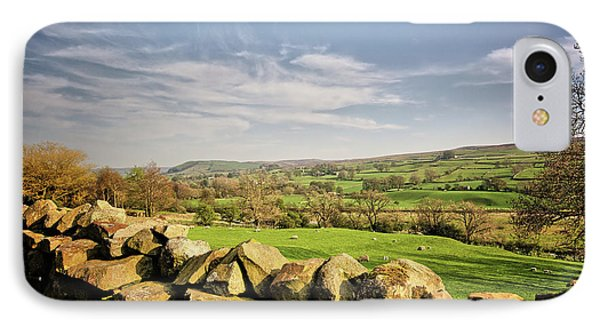 Reeth Views IPhone Case by Stephen Smith