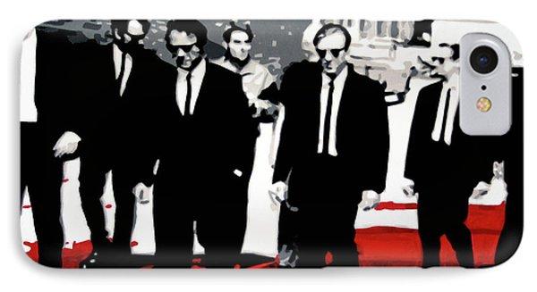 Reservoir Dogs Phone Case by Luis Ludzska