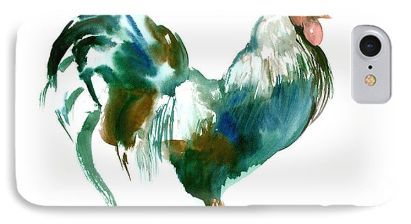 Rooster IPhone Case by Suren Nersisyan