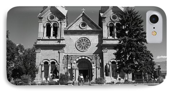 Santa Fe - Basilica Of St. Francis Of Assisi Phone Case by Frank Romeo