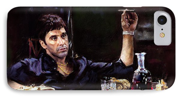 Scarface IPhone Case by Ylli Haruni