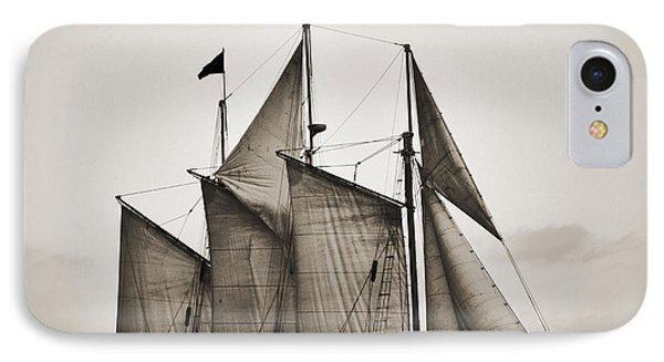 Schooner Pride Tall Ship Charleston Sc IPhone Case by Dustin K Ryan