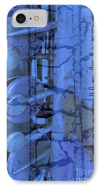 Sidewalk Blues Phone Case by Gwyn Newcombe