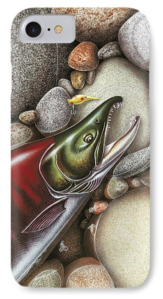Sockeye Salmon IPhone 7 Case by JQ Licensing