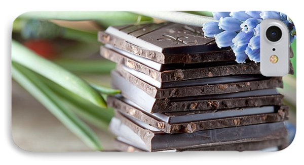 Stack Of Chocolate IPhone Case by Nailia Schwarz