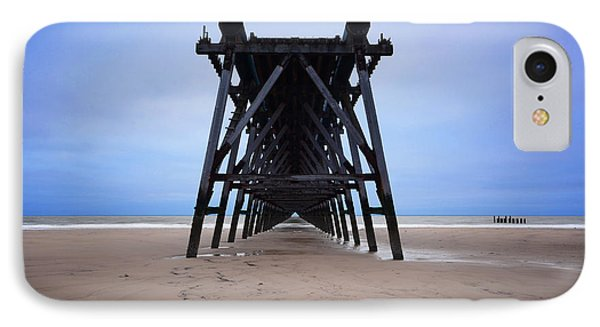 Steetley Pier IPhone Case by Nichola Denny