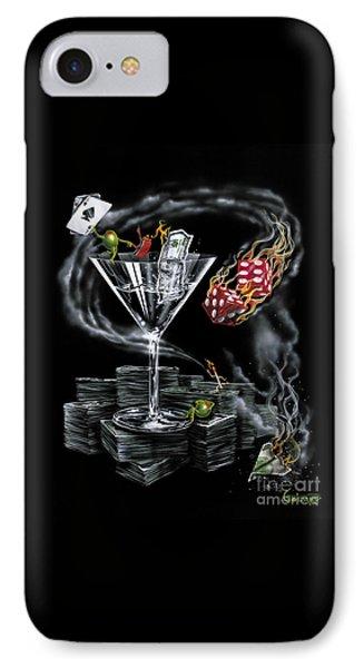 Strike It Rich IPhone Case by Michael Godard