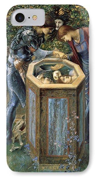 The Baleful Head IPhone 7 Case by Edward Burne-Jones