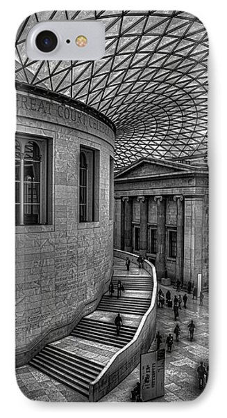 The British Museum IPhone Case by Martin Newman