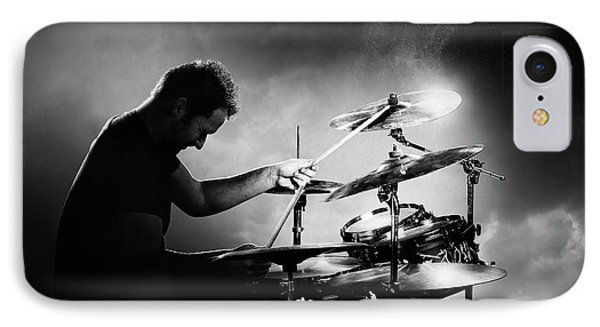 The Drummer IPhone 7 Case by Johan Swanepoel
