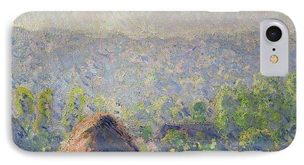 The Haystacks Phone Case by Claude Monet