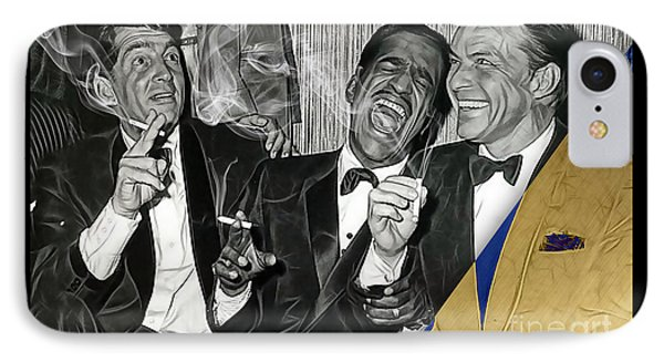 The Rat Pack Collection IPhone Case by Marvin Blaine