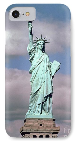 The Statue Of Liberty IPhone Case by American School